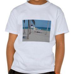 Ft Lauderdale Beach Lifeguard Stand Tees By WanderingWonders