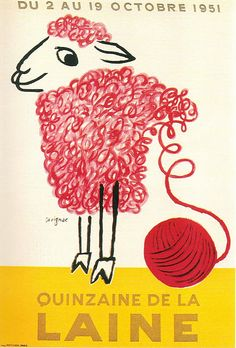 the advert is to make knitters buy wool  the designer message is to tell knitters  that the wool is original and they have more than a color  the advert is for knitters          BY AHAD
