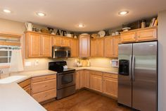 Kitchen Above Cabinet Decor