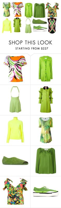 """great collection"" by monica022 ❤ liked on Polyvore featuring Emilio Pucci, Maison Margiela, Jean-Paul Gaultier, Gucci, Delpozo, Lygia & Nanny, Marsèll, Dorothee Schumacher, Rosie Assoulin and Julien David"
