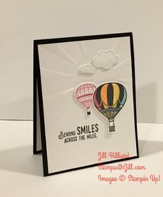 Jill's Card Creations: Free Tutorial- Emboss with your Stampin Up Die!