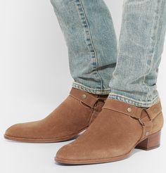 eb5193c3d5e69 Men s Designer Boots. Mens Boots FashionFashion ShoesBlue Suede ShoesChelsea  ...