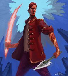 Rand al'Thor!! The Dragon Reborn : Photo