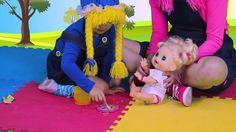 La Bebe come Papilla- Baby Alive Esta linda #muñeca le habla a los pequeños y ellos se divierten jugando con ella, ya que le pueden dar de comer y hacerle cosquillas! #babyalive #niños #jugar #juguetes  No te pierdas el video!