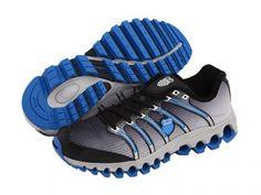 Tênis K-Swiss Men s Tubes™ Run 100 Black Fade Brilliant Blue 74459a9c786