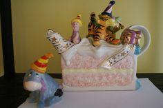WINNIE THE POOH BIRTHDAY CAKE STUDIO 250 EDITION TEAPOT SET DISNEY CARDEW MIB