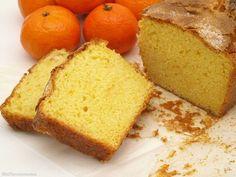 Bizcocho de mandarina - Recetas Thermomix   MisThermorecetas Nice Cream, Sweet Bread, Cornbread, Muffins, Bakery, Food And Drink, Healthy Recipes, Ethnic Recipes, Desserts