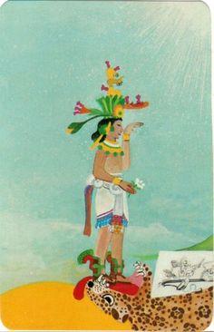 O. The Fool - Xultun Tarot  by Peter Balin