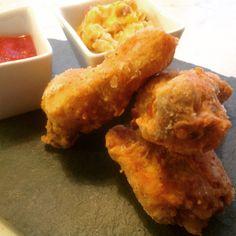 Kentucky fried chicken Kentucky Fried, Kfc, Fried Chicken, Fries, Ethnic Recipes, Food, Meal, Essen, Hoods