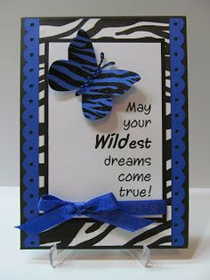 Savvy Handmade Cards: Wildest Dreams Card