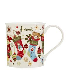 Harrods Stocking China Mug available to buy now. Shop Christmas 2014 online & earn reward points. Luxury shopping with Free Returns on UK orders.
