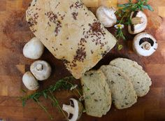 receta-pan-champiñones-linaza-cherrytomate-10 Snacks Saludables, Bread, Food, Bread Recipes, Pastries, Linseed Oil, Breads, Strong, Brot