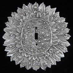 Don Drumm Oversized Sunflower Switchplate - Home & Office | Don Drumm Studios | Akron, OH OBSESSED with all things Don Drumm