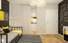 Dom w Opolu - Średni pokój dziecka, styl skandynawski - zdjęcie od WERDHOME