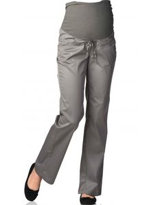 Loose Fit, Parachute Pants, Grey, Fitness, Fashion, Early Pregnancy, Women's, Hook And Loop Fastener, Gift Cards