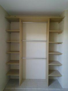 Bedroom Closet Design, Master Bedroom Closet, Closet Designs, Linen Closet Organization, Closet Storage, Diy Organisation, Wardrobe Closet, Closet Space, Placard Simple