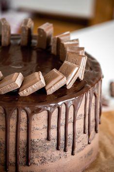 Rezept Drip Cake Schokoladentorte #chocolatecake #dripcake #chocolate