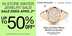 #forevermarkfriday Signet Pinky #Ring: What every little finger wants to wear when it grows up. http://qoo.ly/8fxu3/0