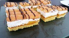 Lambada cuts - recipe - The best recipe for the preparation of ever popular lambada cuts! Delicious Cake Recipes, Healthy Dessert Recipes, No Bake Desserts, Yummy Cakes, Easy Desserts, Baking Recipes, Gourmet Sandwiches, Sandwiches For Lunch, Cut Recipe