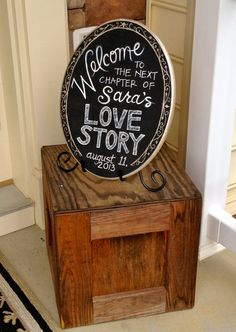 Getting MARRIED? Or know of anyone that is? Order a customized Welcome sign for the Bridal Shower, Engagement Party, or Wedding!  HandPaintedByE