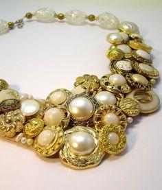 Necklace  Wedding or Special Occassion por handartdesignstudios