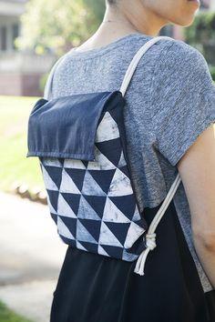 Back to School: DIY Minimalist Backpack