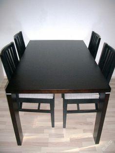 Jídelní souprava (stůl   4 židle)