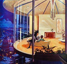 1961-63 Motorola | city view    artist: Charles Schridde