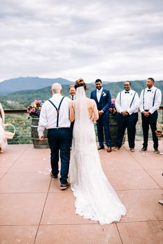 Mountain Destination Wedding at The Magnolia Venue Pigeon Forge, Photo Online, Celebrity Weddings, Wedding Vendors, Magnolia, Real Weddings, Celebrations, Destination Wedding