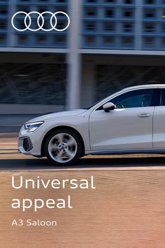 Bound to turn heads. Combining the latest technology with striking features, the Audi A3 Saloon is made to be the center of attention. #Audi #AudiA3 Digital Technology, Latest Technology, Driving Test, Audi A3, Used Cars