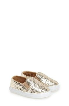 MICHAEL Michael Kors 'Ivy Alli' Crib Shoe (Baby) available at #Nordstrom