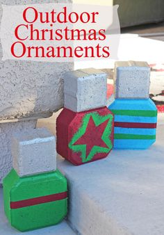 Outdoor Christmas Ornaments
