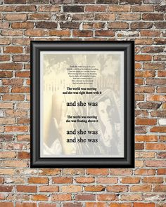 And She Was by The Talking Heads printable by PrintableSongParts