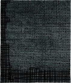 Opera Blu Hand Knotted Tibetan Rug from the Tibetan Rugs 1 collection at Modern Area Rugs