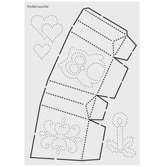 Prickel v gel bastelbogen zum prickeln f r deko mobile for Herbstblatter deko basteln
