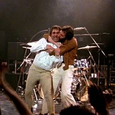 Pete loved his bandmate! (photo from The Kids are Alright)