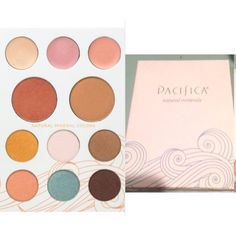 Pacifica Eye Shadow Palette Pacifica Solar Complete Color all-natural mineral eyeshadow palette. Includes six shadows, three cream highlighters, a blush and bronzer. A couple shadows were gently swatched but like new condition. Pacifica Makeup Eyeshadow