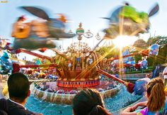 Disneyland - Dumbo the Flying Elephant | This is one of thos… | Flickr