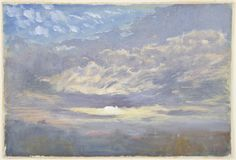 William Ward II, Sky Subject, after Turner, 19th century, Harvard Art Museums/Fogg Museum.