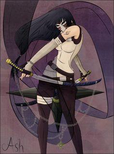 Hinata looks kick ass, and totally fierce.