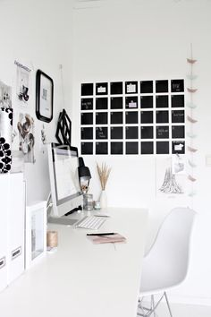 chalkboard calendar / home office Home Design Decor, Home Office Design, Home Office Decor, Interior Design, Office Ideas, Design Design, Office Inspo, Design Ideas, Paris Design