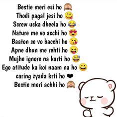 Best Friend Quotes Funny, Funny Attitude Quotes, Besties Quotes, Cute Funny Quotes, Cute Love Quotes, Fun Quotes, Bffs, Funny Jokes, Gandhi