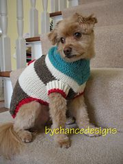 Ravelry: Sock Monkey Dog Sweater pattern by Esther MacInnes - bychancedesigns