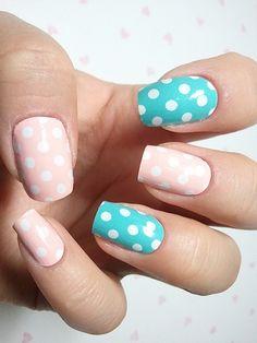 Colorful Nail Art Designs 2012