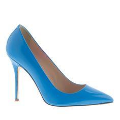 Roxie glossy leather pumps : pumps & heels | J.Crew