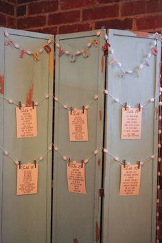 Southern Vintage Wedding Rental - bifold door idea
