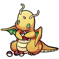 Chibi Dragonite ---------------------------------------- Made on Paint Tool SAI It took about 1 hour ---------------------------------------- Ask me for a Commission!:...