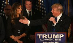 Donald and Melania Trump: Their race to the White House then and... #MelaniaTrump: Donald and Melania Trump: Their race to… #MelaniaTrump