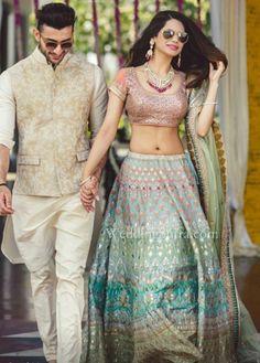 An ivory sherwani by Anita Dongre for WeddingSutra Bridal Diaries. Wedding Dresses Men Indian, Wedding Dress Men, Indian Dresses, Indian Outfits, Wedding Shot, Indian Clothes, Indian Weddings, Wedding Bells, Destination Wedding