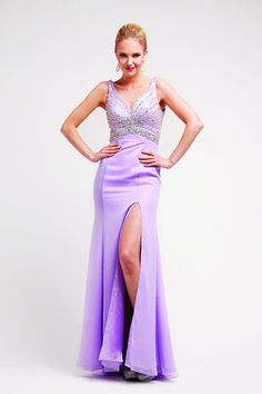 Sheath V Neck Ankle Length Bride Maid Evening Party Long Prom Dress With Ruffle Sequins
